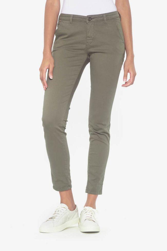 Khaki Lidy chino pants