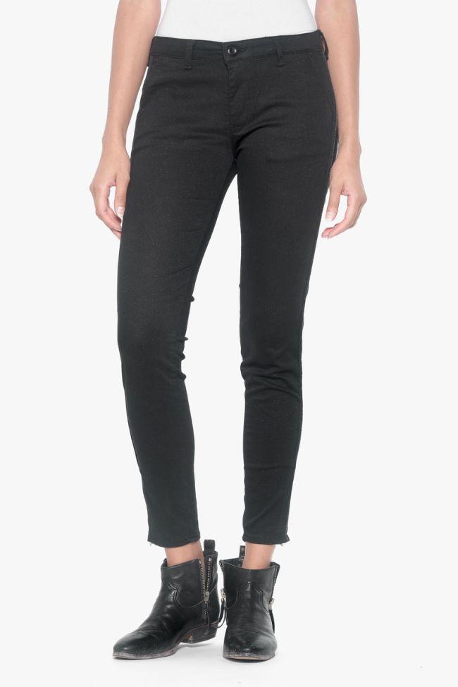 Pantalon Polly noir à paillettes