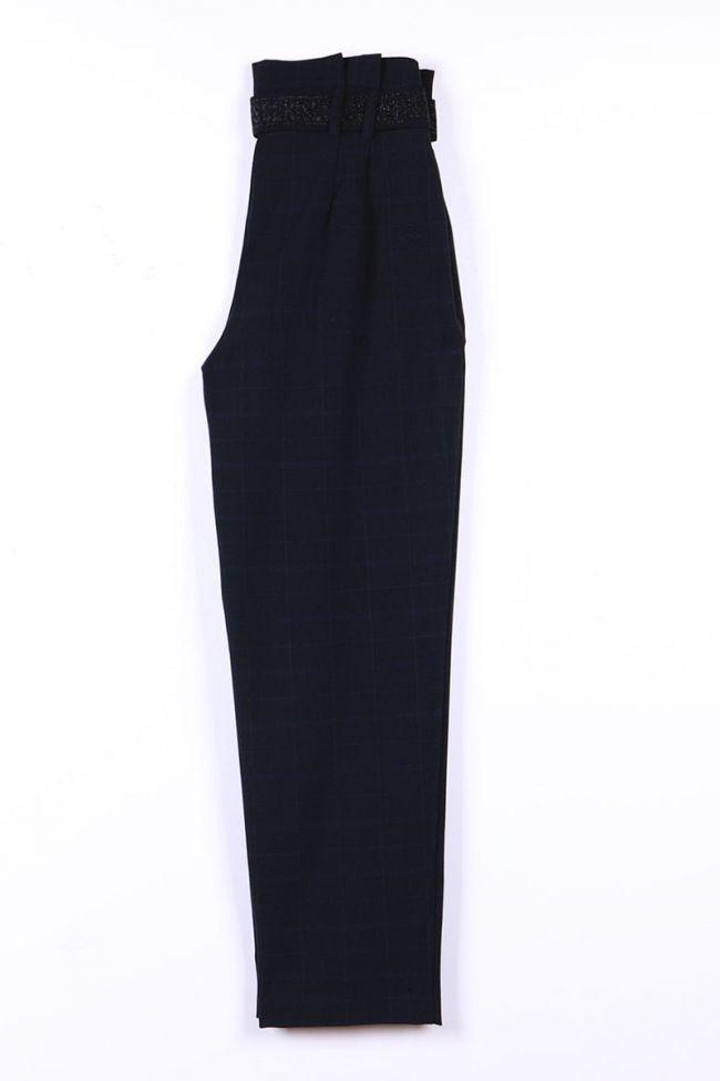 Pantalon Jenniegi bleu-noir