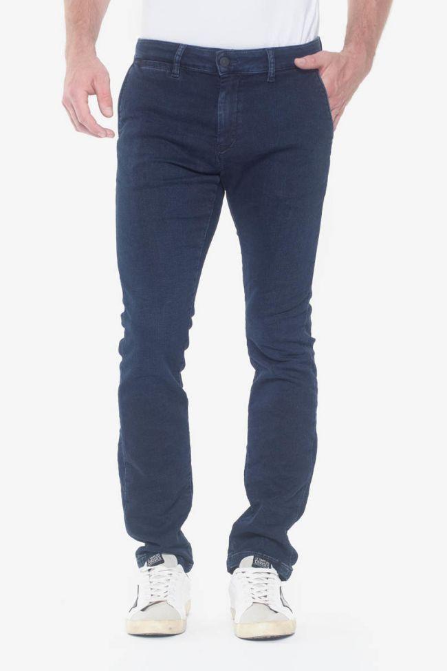 Pantalon Chino Jogg Kurt bleu noir