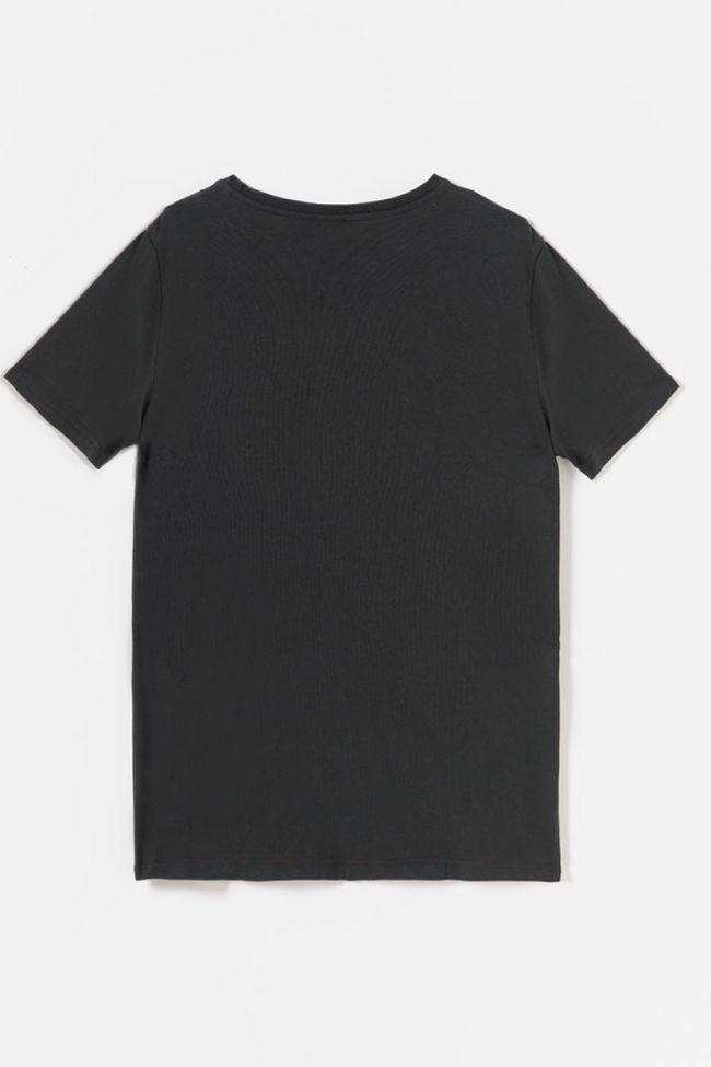 T-shirt Adamsbo noir imprimé