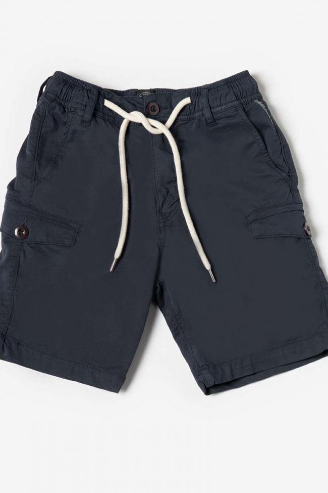 Navy blue Algi bermuda shorts