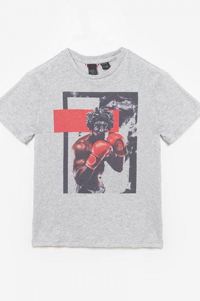 Printed grey Mauibo t-shirt
