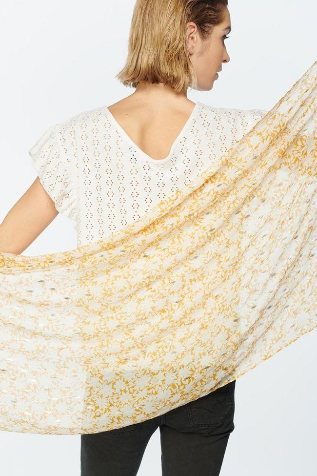Flower pattern Antes scarf