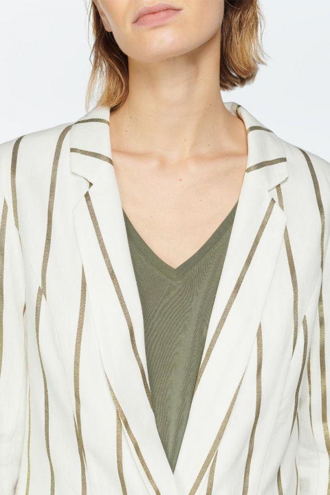 Veste blazer Cayman crème