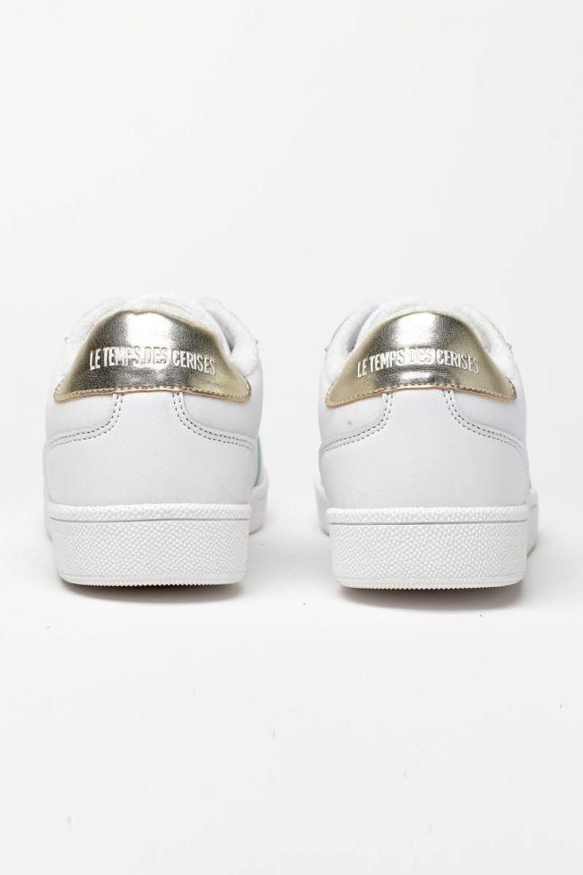 Baskets Flash blanches