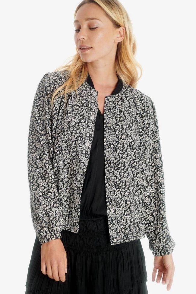 Black Ivana teddy jacket