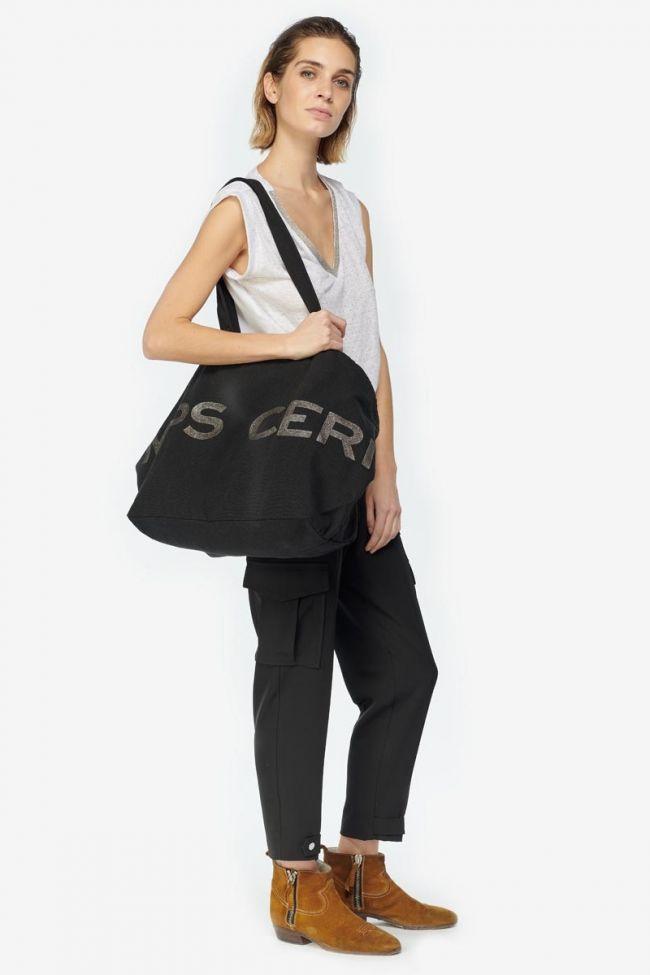 Black Java canvas bag