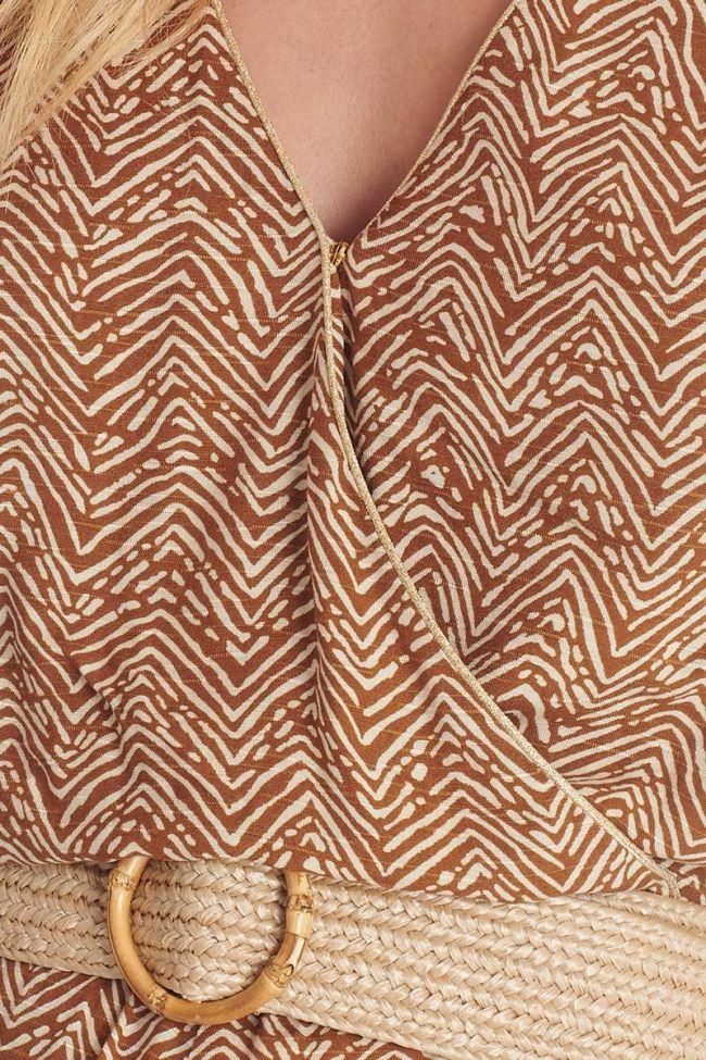 Ethnic pattern Luba jumpsuit