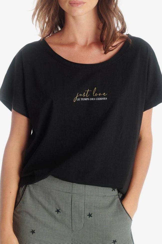 T-shirt Maureen noir