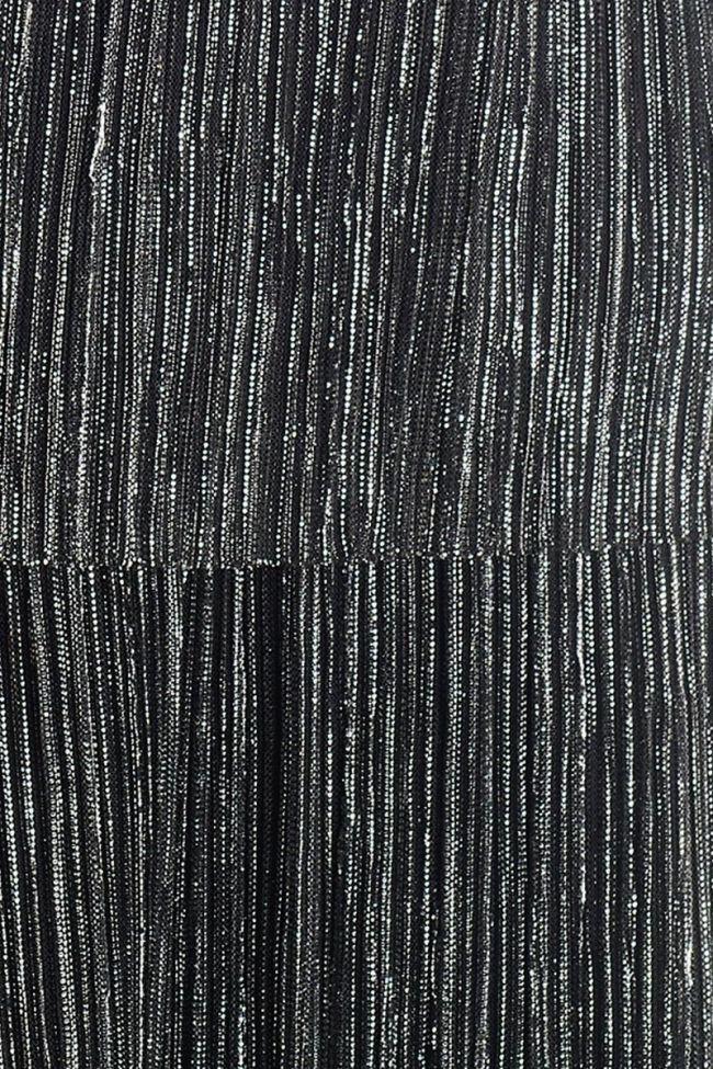 Silver Mugel camisole