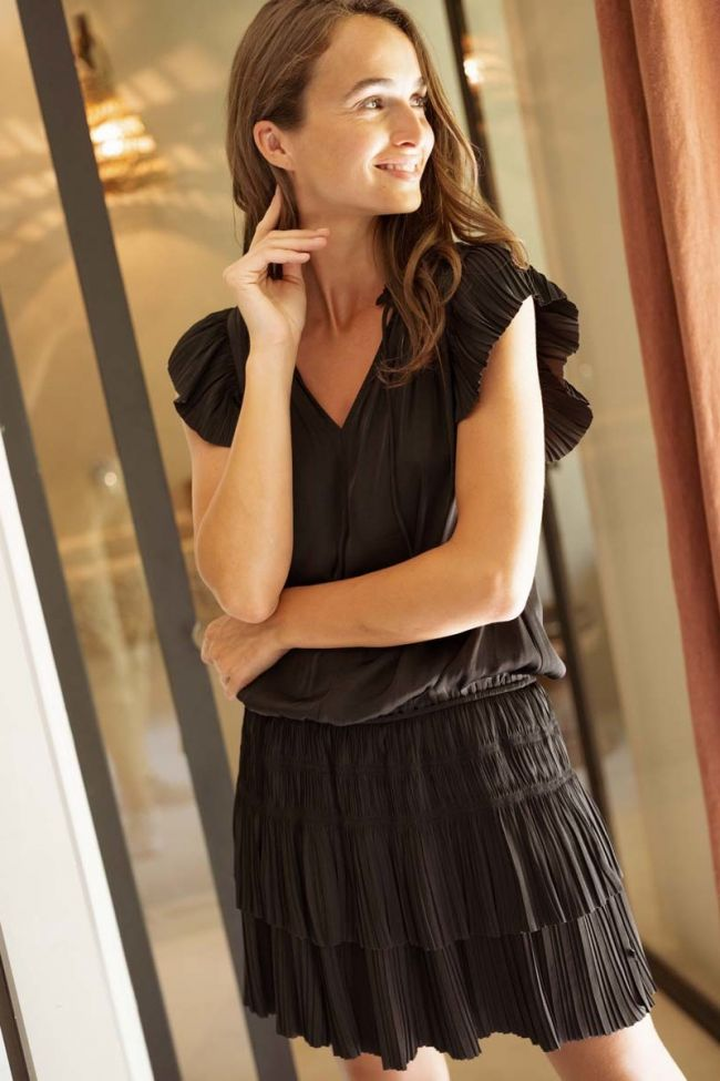 Robe Sidonie noire