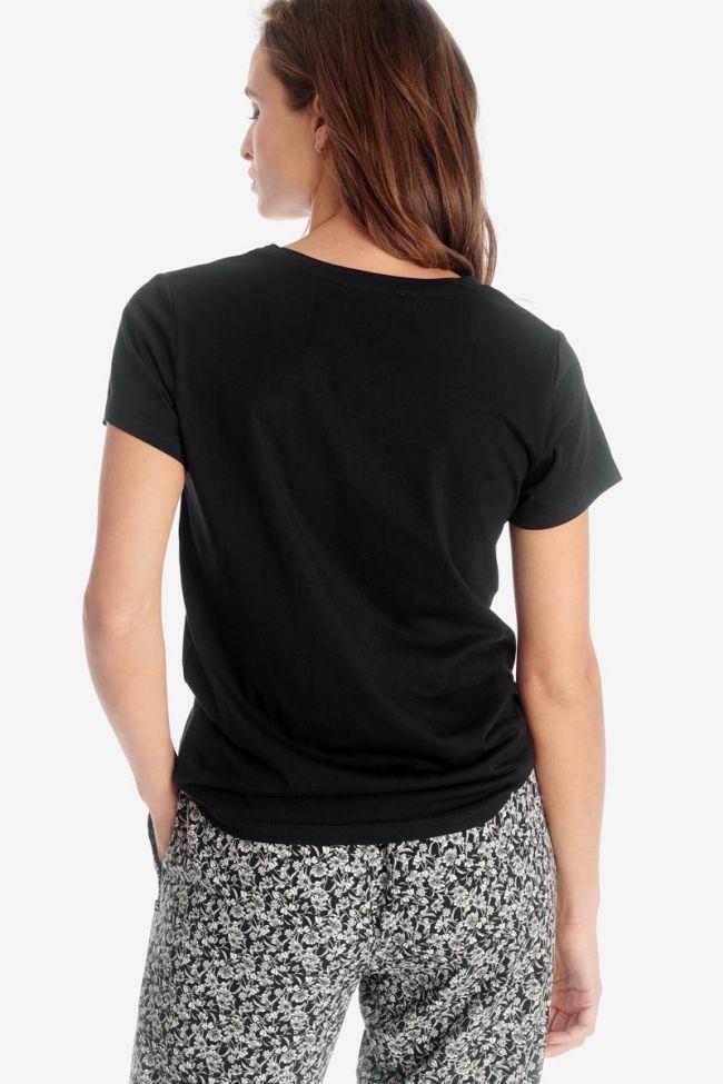 T-shirt Talia noir