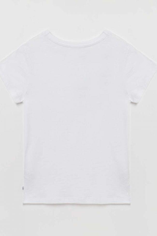 T-shirt Annelise blanc