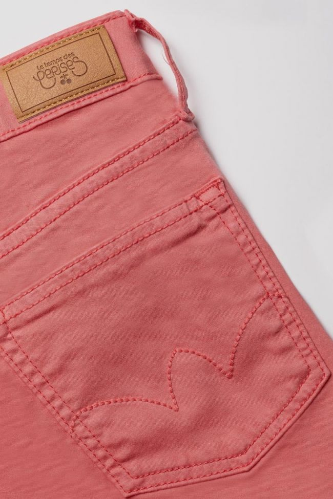 Short Col3 en jeans rose