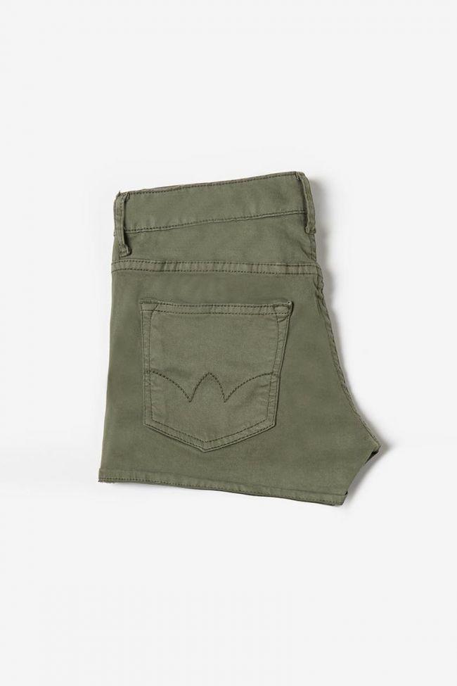 Short Col3 en jeans kaki