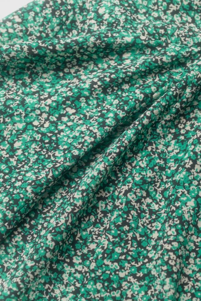 Jupe à motif floral Inesgi verte