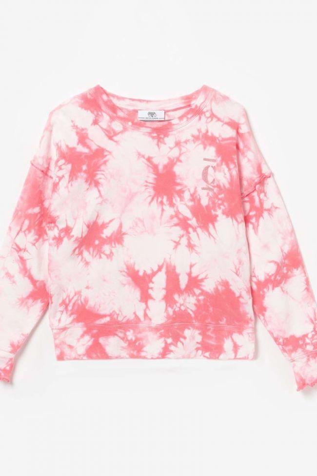 Pink tie-dye Jilgi sweatshirt