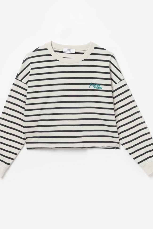 Navy and white Maryngi sailor pullover