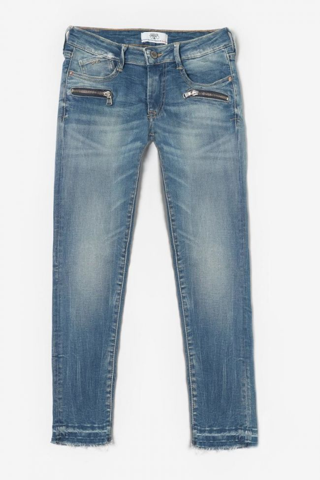 Blue skinny Motor jeans N°4