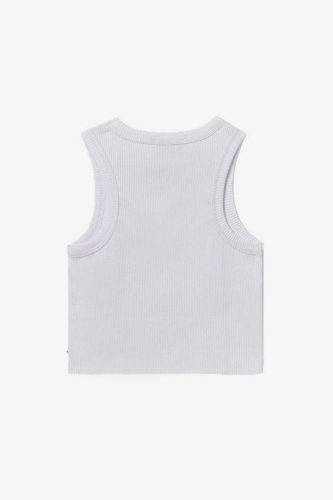 Short white Murgi top