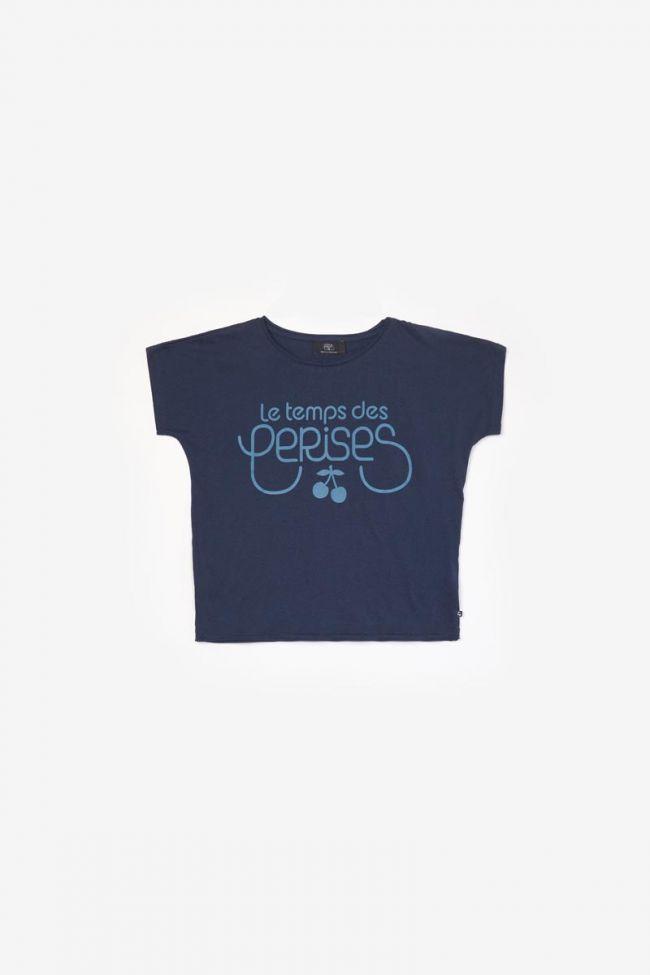 T-shirt Musgi avec logo bleu