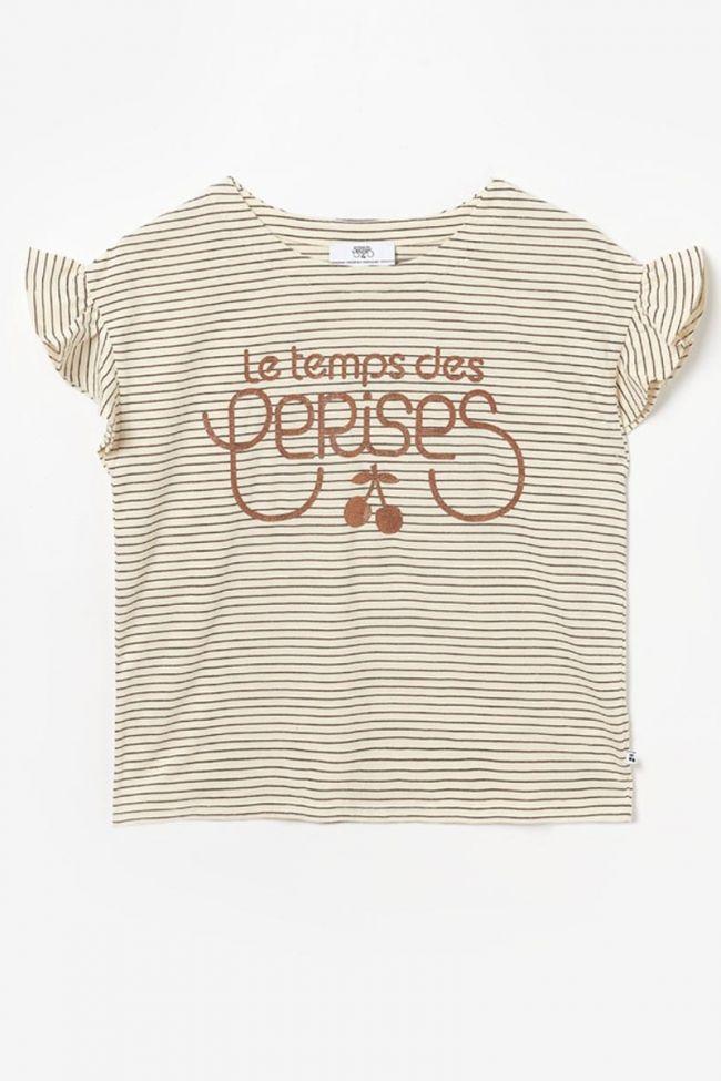 T-shirt Nadygi à rayures