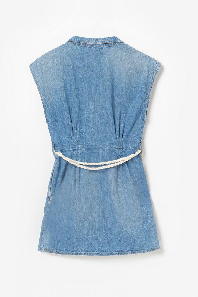 Blue denim Partman dress