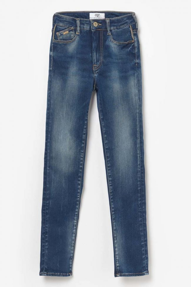 Blue ultra Power Skinny high waisted jeans N°2