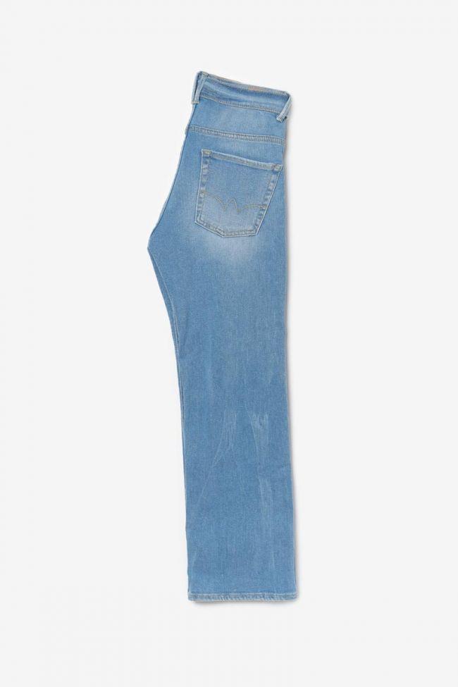Blue wide Wave 7/8th high waist jeans N°5
