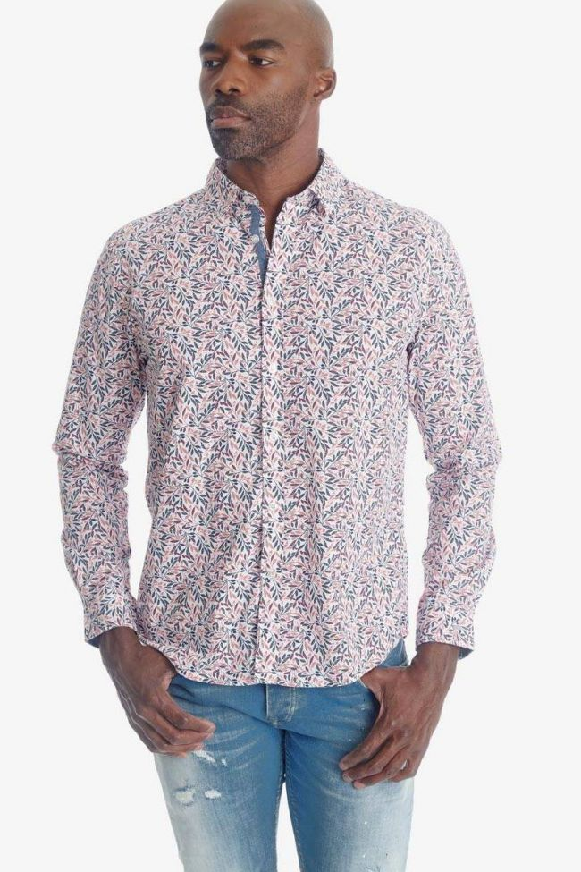 White floral pattern Baxel shirt
