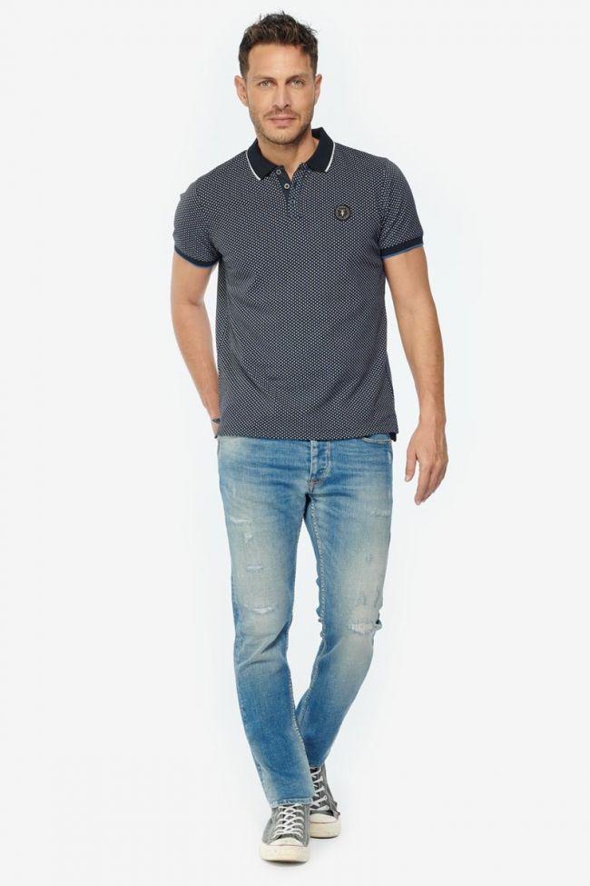 Navy blue Casel polo shirt