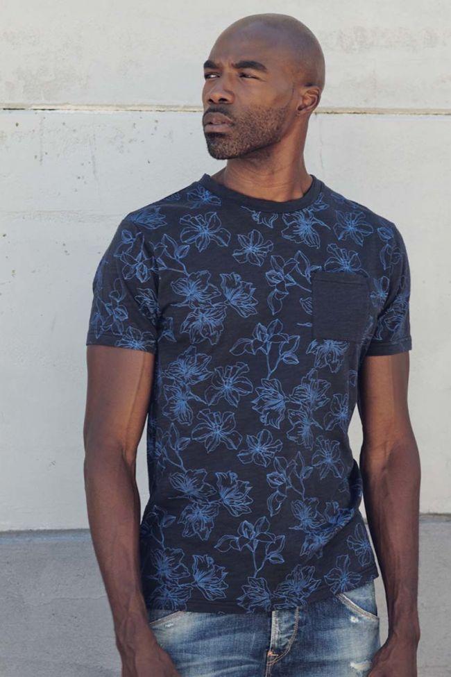 T-shirt Clift bleu foncé