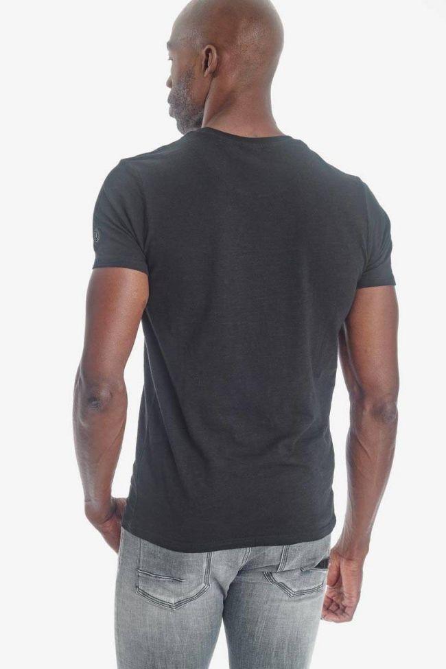T-shirt Pilas noir
