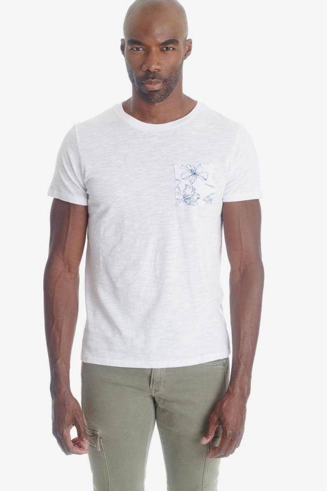 White floral detail Pilas t-shirt
