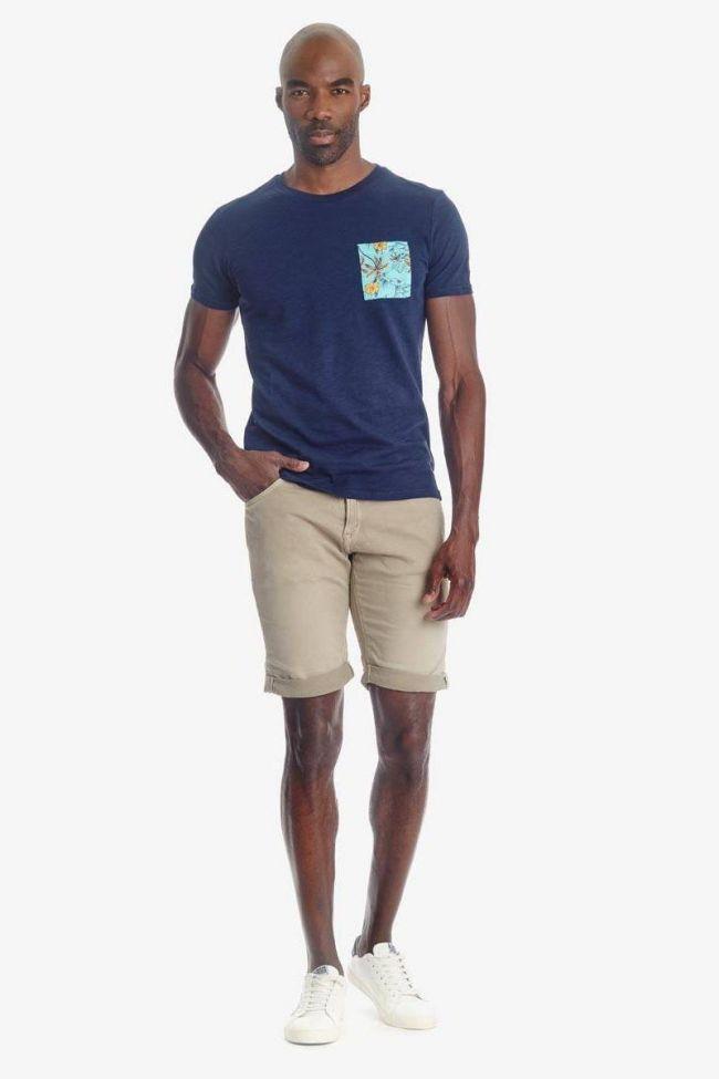 T-shirt Pilas bleu marine