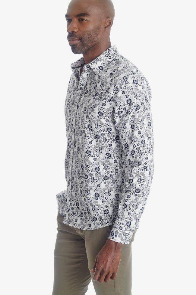 Flower pattern Pold shirt