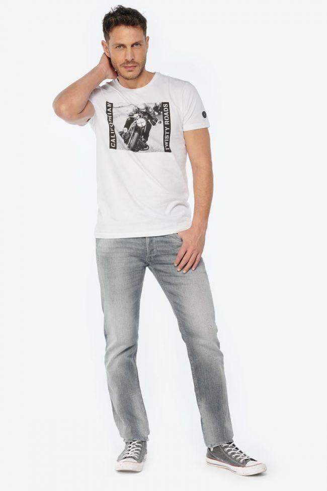T-shirt Portage blanc imprimé