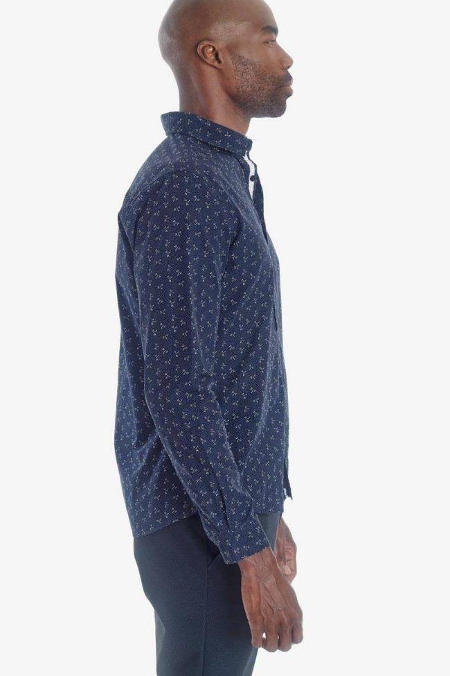 Navy Velas shirt