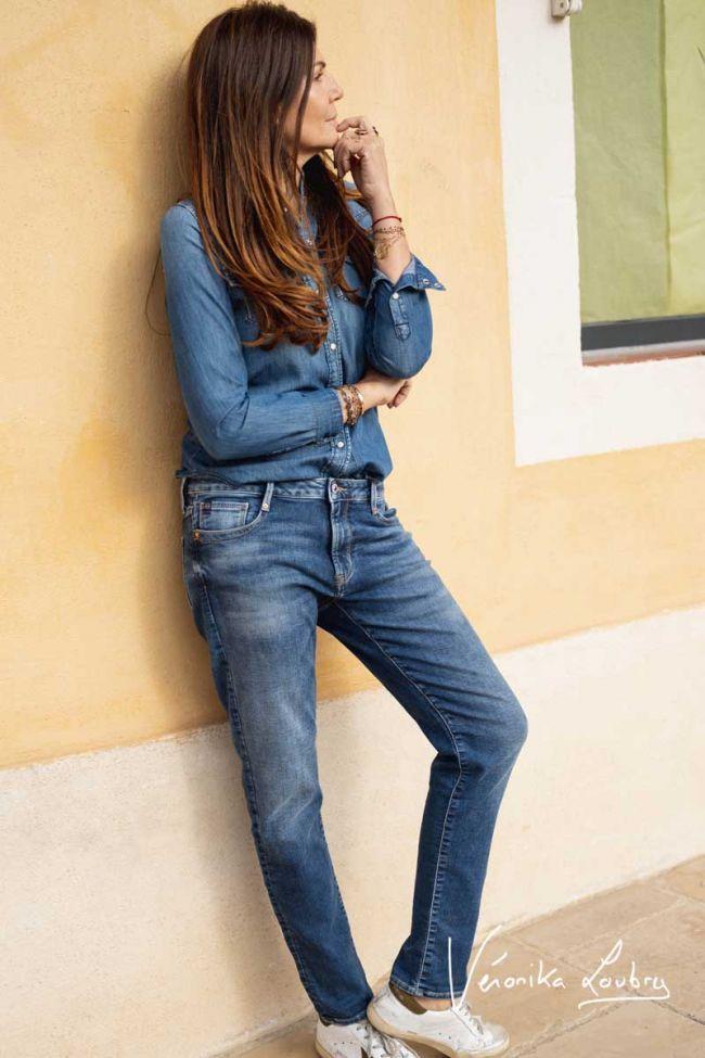 Funk Jogg 200/43 boyfit by Véronika Loubry jeans bleu N°3