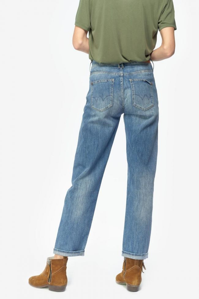 Basic 400/18 mom regular jeans bleu N°4