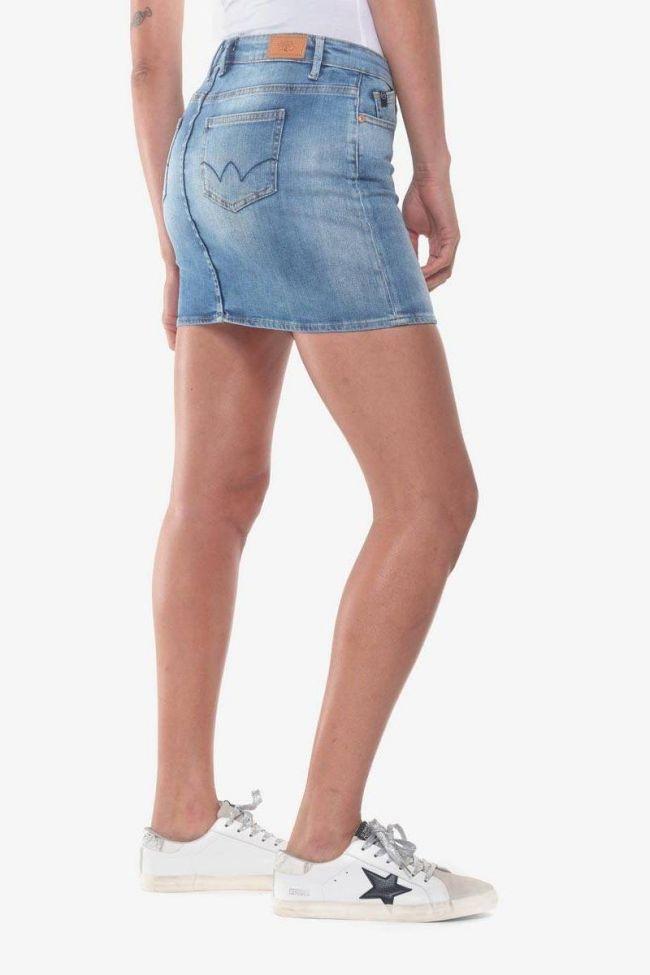 Jupe en jeans Baki bleue