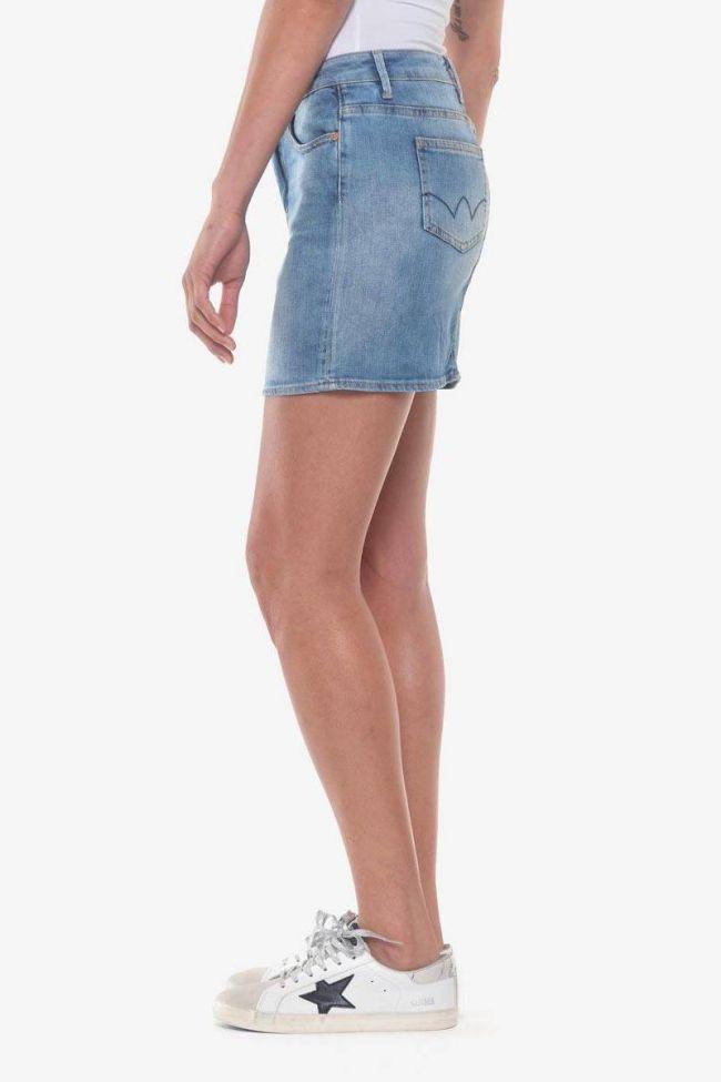 Blue denim Baki skirt