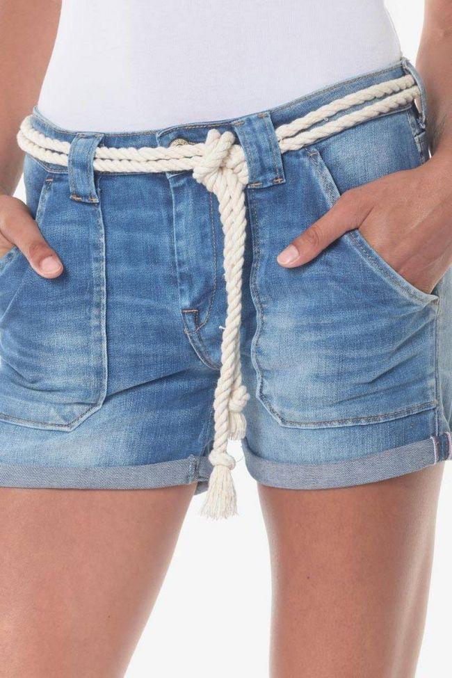 Short en jeans Bloom 3 bleu