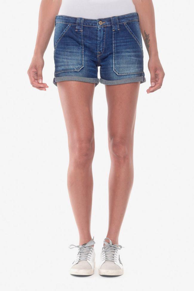 Blue denim Bloom 4 shorts