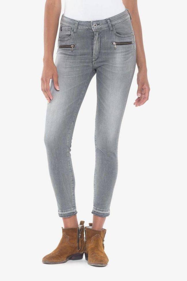Dado pulp slim high waist 7/8th jeans grey N°3
