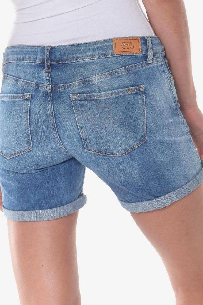 Short Janka en jeans bleu