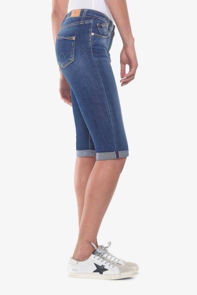 Blue denim Mandy capri pants