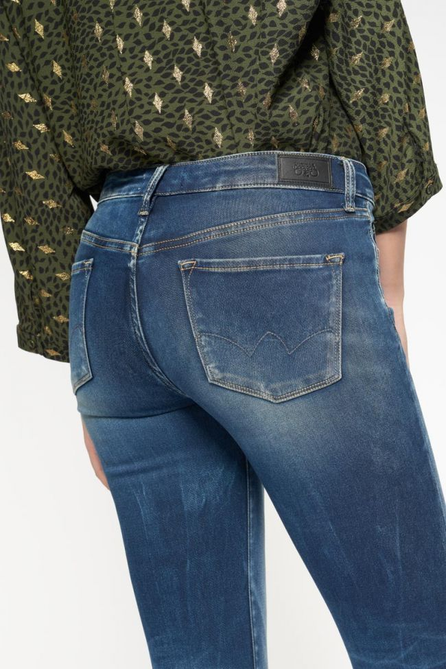Modi ultra power skinny 7/8th blue jeans N°2