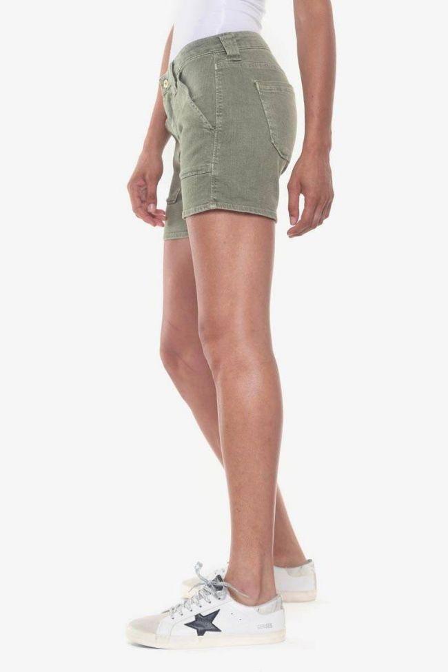 Khaki denim Olsen2 shorts